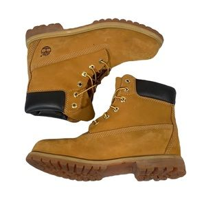 Timberland lace up boots nellie size 10m